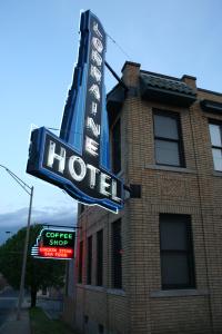 Lorraine Hotel sign Memphis