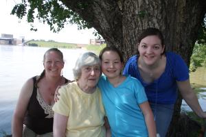 three generations of my family on historic mother's day