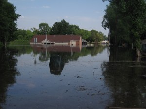 the church that's flooded
