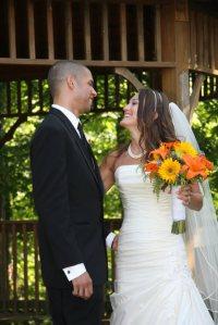 wedding couple -- Casey & Greg