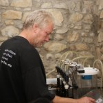 filling bottles with microbrew