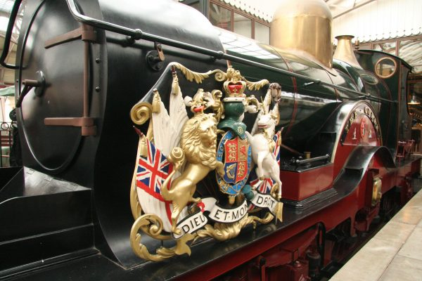 windsor castle royal train