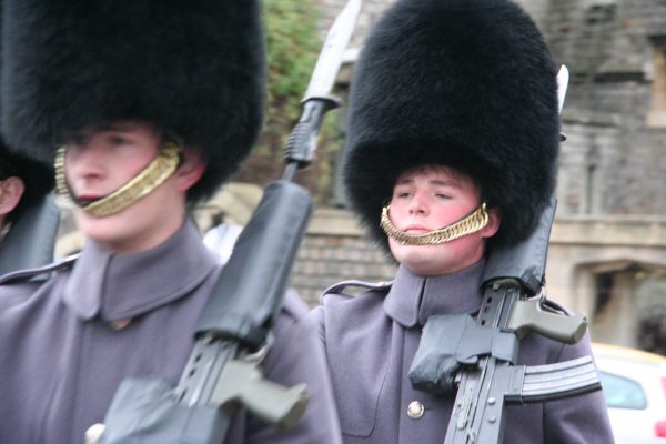 guards as Windsor Castle