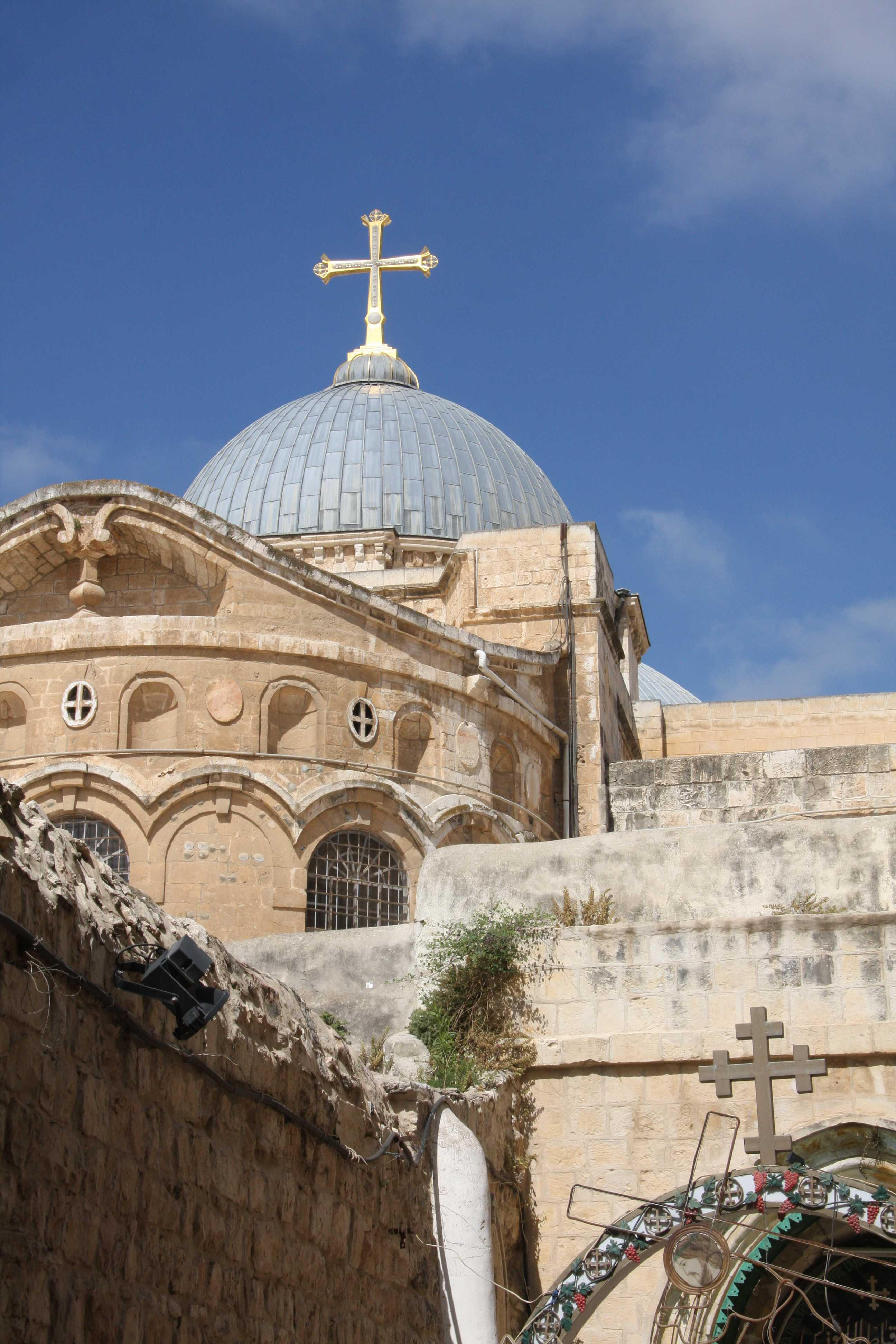 The church marking the end of the Via Dolorosa where Jesus died