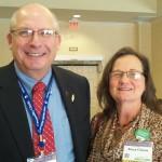 Curt @CaptainCorn & Nancy Friessen @NebrNancy