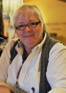 """Deb Brown of DebWorks photo by """"Uncle"""" Jerry Hirsch"""