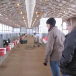 Annie & Jenna show me a nursery barn