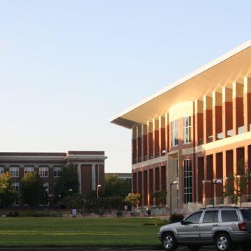 University of Memphis student center