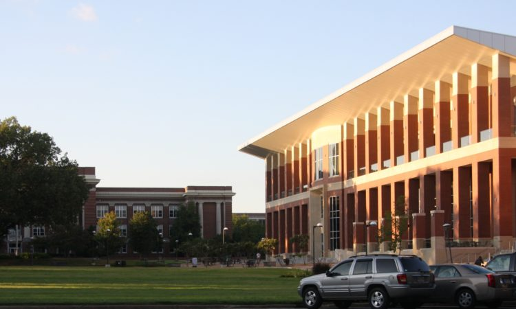 University of Memphis student center
