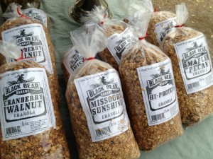 locally mixed granola