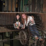 GA & Jake playing at the City Museum