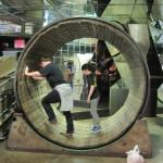 hamster wheelin