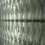 walls made of soda bottles