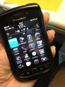 goodbye Blackberry