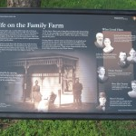 marker at the Truman family farm in Missouri