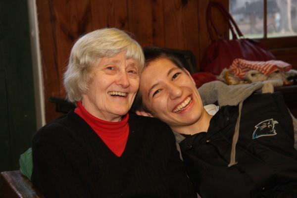 Mom & grandson Kazu