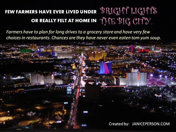 farmer bright lights big city