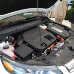 under the hood of an electric car
