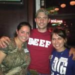 Ryan Goodman @AR_Ranchhand in Beef & Marian Black digs the pig