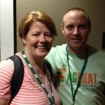 Brian Scott @TheFarmersLife rocks an AgChat Foundation shirt