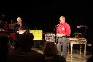 Larry Sailer and Deb Brown