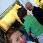 Me and the Iowa State Fair butter cow