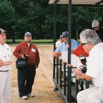 Kevin Eblen on a field tour in Mississippi