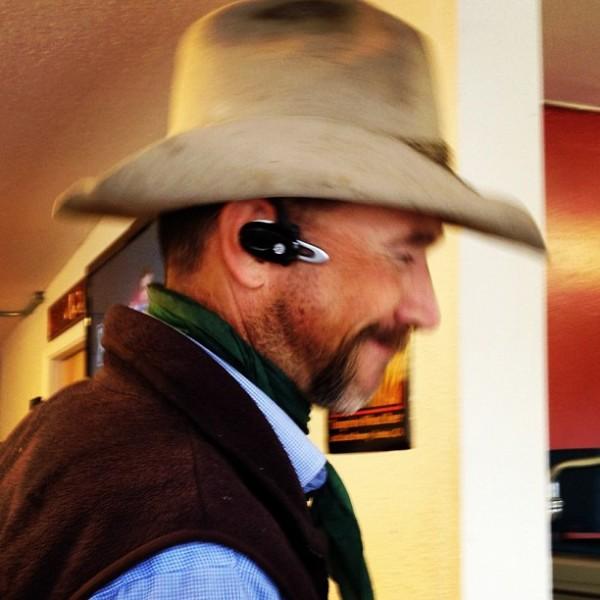 rancher/cowboy Jeff Fowle