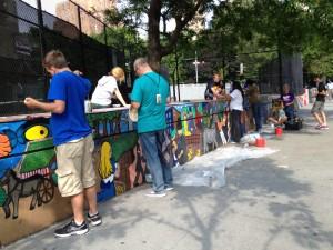 community involvement at a school in TriBecCa