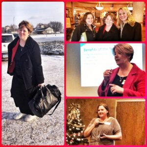 North Dakota Winter collage
