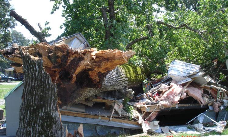 the wind from Katrina