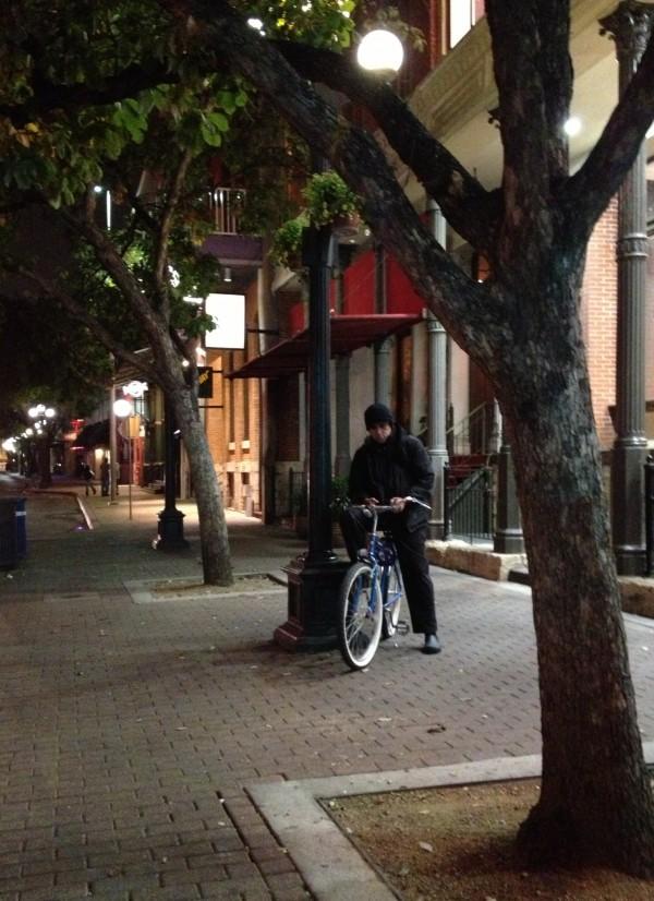 San Antonio side walk