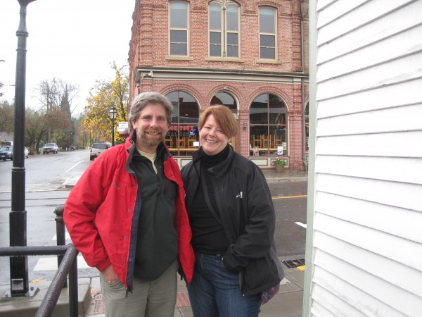My friend Steve Werblow & me