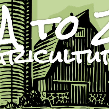 A to Z Agriculture banner