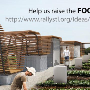Urban Harvest STL roof top farm