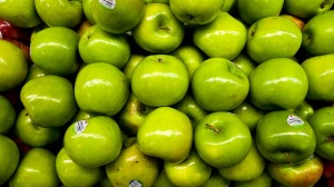 Granny Smith Apple by Mr. Noded from Flickr