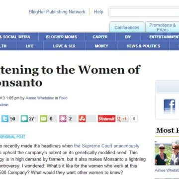 most popular article on blogher