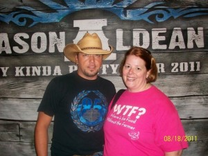 Jason Aldean and Janice Person - we make a cute couple :)