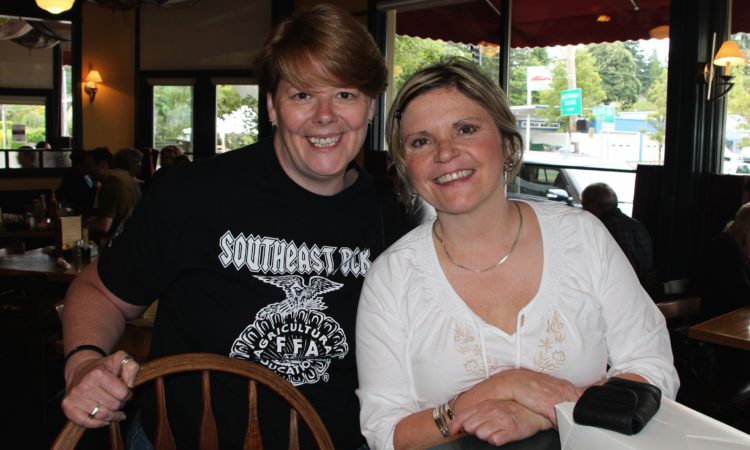 Julie from sleuth4health & Janice Person