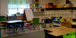 "My sister's classroom ""where the magic will happen"""