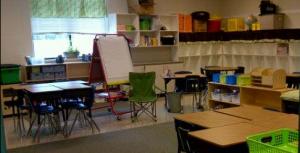 "My sister's classroom ""where the magic will happen"""