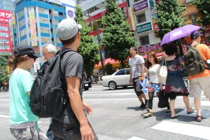 Friends in Akihabara, Tokyo