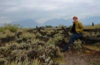 self-portrait Grand Teton