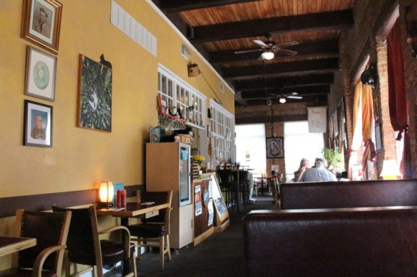 inside Cateye Cafe