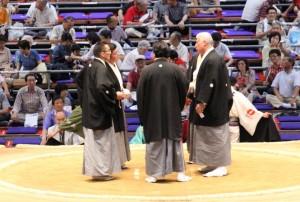 sumo judges discuss decision