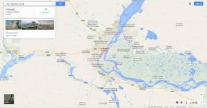 Volgograd area map
