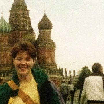 Janice in Red Square St Basil Basilica - Copy (2)
