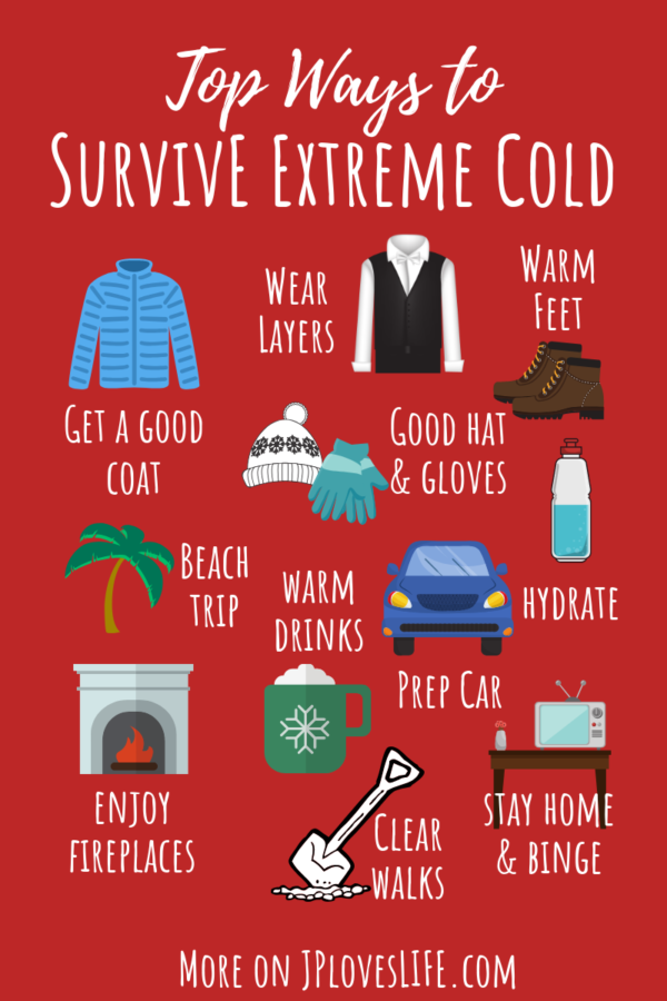 tips to survive extreme cold