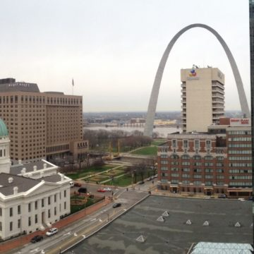 The Arch & Federal Courthouse of the Jefferson National Expansion Memporial