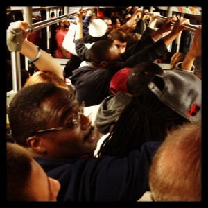 crowded metrolink